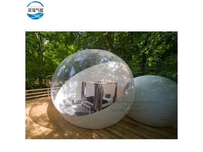 (NBTE-31)Customized Inflatable luxurious waterproof  bubble tent hotel