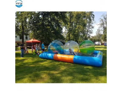 Outdoor commercial portable inflatable swimming pool