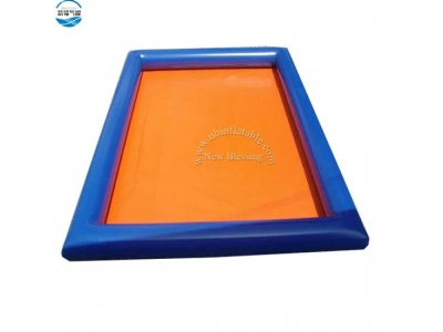 Square Shape Inflatable Pool For Outdoor Activity