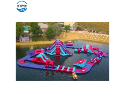 (NBWP-010)Giant Inflatable Water Park for Lake and Sea