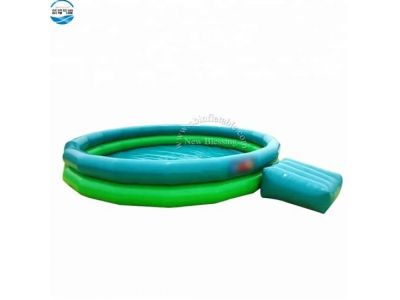 outdoor large blow up inflatable kiddie swimming pool for playing water
