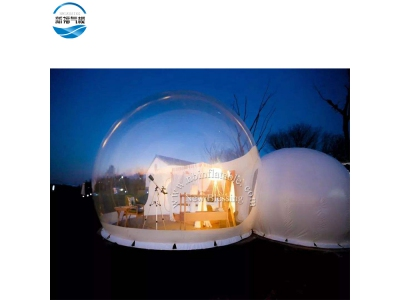 (NBTE-B03 )Hot sale portable Inflatable outdoor bubble hotel tent for reantal
