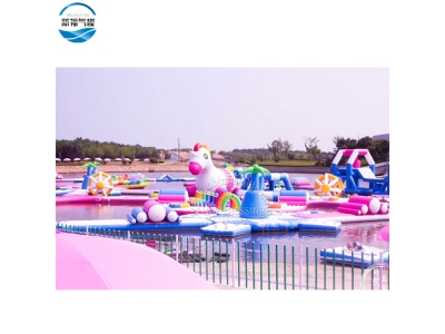 (NBWP-012)Floating Giant Inflatable Water Park