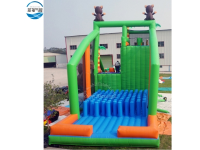 (NBAB-1009)Soft Inflatable Cliff Jump freefall Airbag with Jump Platform