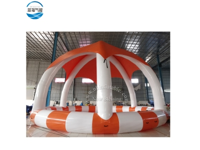 NBPL-01 Top quality swimming pool with tent