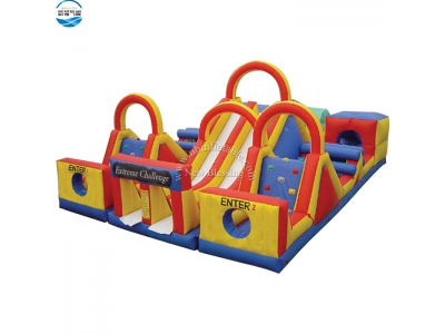 NBOB-1017 classic inflatable obstacle course game