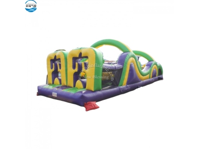 NBOB-1018 funny adult inflatable obstacle course