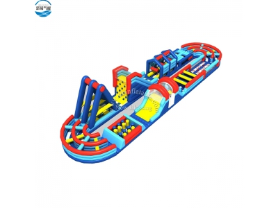 NBOB-1022 custom inflatable obstacle course game