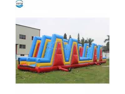 NBOB-1023 inflatable climbing obstacle course