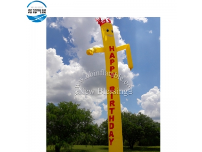 NB-AD12 Hot-sale customized advertising skydancer inflatable tube man fly guy