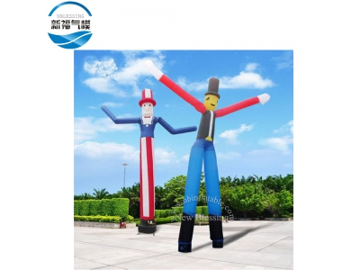 NB-AD13 Customized inflatable flying guys advertising air dancing man for events