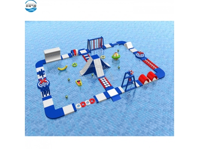 (NBWP-014) Inflatable aqua park for lake or sea