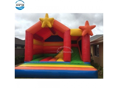 NBCO-1024 Inflatable bounce house/jumping combo with slide
