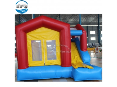 NBCO-1025 3.9x3.65x2.75mH inflatable bouncing combo with slide