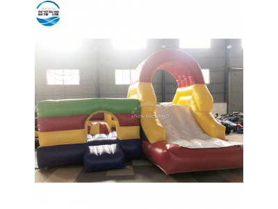 NBBC-065 5x5x3.2m customized funny inflatable bouncing combo house