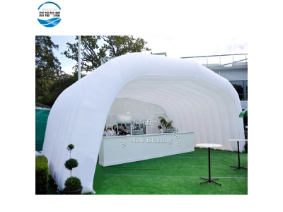 NBTE-74 Inflatable white booth tent for commercial