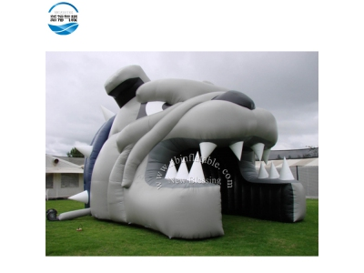 NBTE-77 Inflatable tent with cool bully dog design