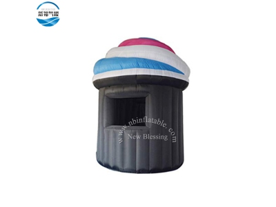 NBTE 78  Mini size Inflatable ice cream booth tent with customized print