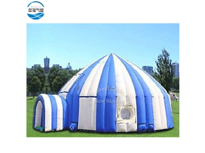 NBTE-79 inflatable &portable multi-colored yurt tent for rental