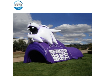 NBTE-80 Inflatable animal wolf tent for rental display activity