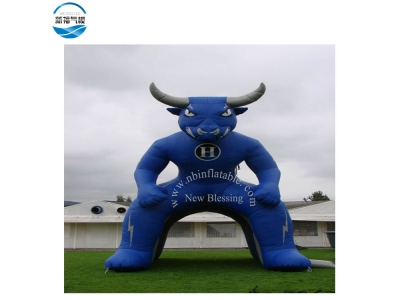 NBTE-81 Inflatable outdoor display tent with cool bull print