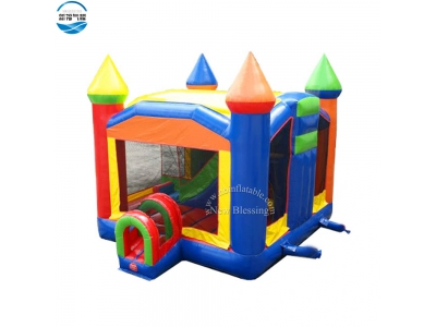 NBBO-1049 Wholesale inflatable jumping castle with tunnel