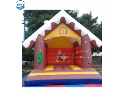 NBBO-1050 Christmas inflatable bounce house for sale
