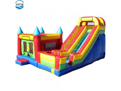 NBCO-1033 Hot-sale 9x7x5.5m jumping bouncer/inflatable combo