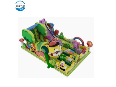 NBFC-42 Inflatable colorful  customized elves theme funcity