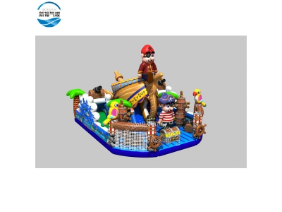 NBFC-43 Inflatable customized pirate theme funcity