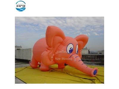 NBCA-05 Inflatable elephant solid model with customized color